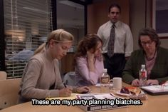 the office party planning